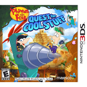 Phineas and Ferb Quest for Cool Stuff - 3DS Game