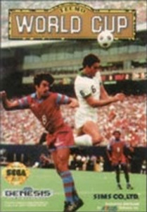 Complete Tecmo World Cup - Genesis Game