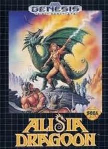 Complete Alisia Dragoon - Genesis Game