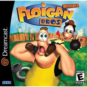 Floigan Bros. - Dreamcast Game