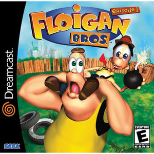 Floigan Bros. - Dreamcast Game