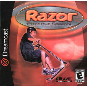 Razor Freestyle Scooter - Dreamcast Game