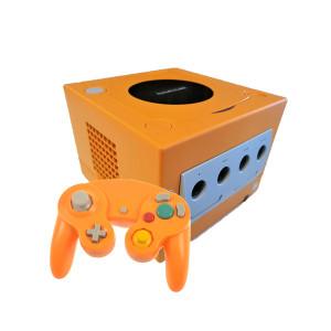 GameCube Orange Spice Player Pak