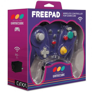 FreePad Wireless Controller Purple - GameCube / Wii