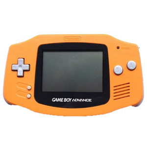 Game Boy Advance System Orange