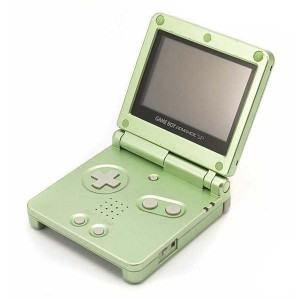 Game Boy Advance SP System Pearl Green