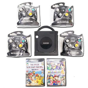 *DOOR BUSTER* GameCube Black 4 Play Bundle Pak