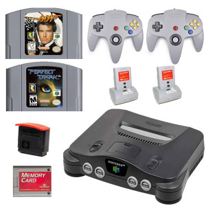 N64 First Person Shooter System Bundle