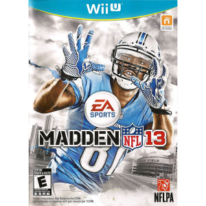 Madden 13 Wii U used video game for sale online.