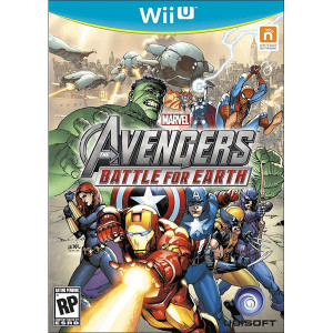 Avengers Battle for Earth fighting Wii U Nintendo used video game for sale online.