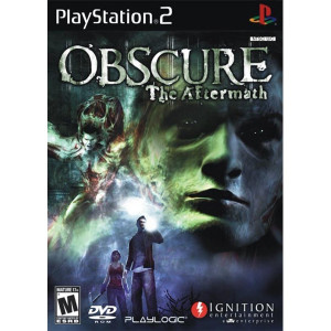 Obscure the Aftermath Playstation 2 PS2 used 3rd person survival horror video game for sale online.