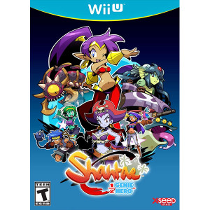 Shantae 1/2 Genie Hero Risky Beats Edition Wii U Nintendo original video game game used for sale online.