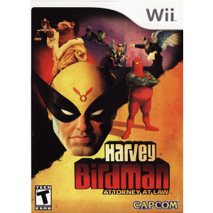 Harvey Birdman Attorney at Law Wii Nintendo used video game for sale online.