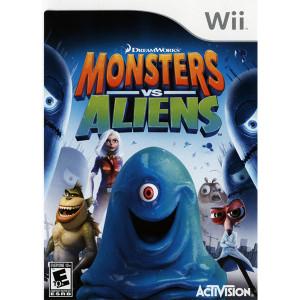 Monsters vs Alien Wii Nintendo used video game for sale online.