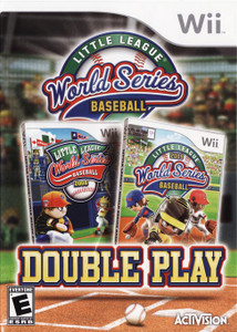 Little League World Series Baseball Double Play Wii Nintendo used video game for sale online.