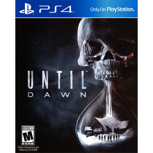 Until Dawn Playstation 4 PS4 used video game for sale online.