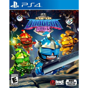 Super Dungeon Bros Playstation 4 PS4 used video game for sale online.