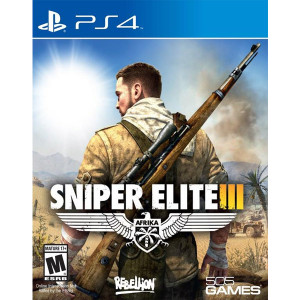Sniper Elite III Playstation 4 PS4 used video game for sale online.