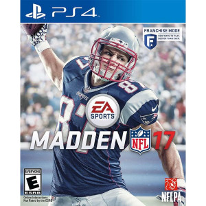 Madden 17 Playstation 4 PS4 used video game for sale online.