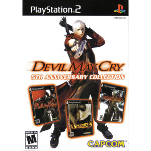 Devil May Cry 5th Ann. Collection (White) Playstation 2 PS2 used video game for sale online.