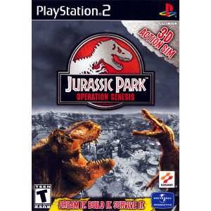 Jurassic Park Operation Genesis Playstation 2 PS2 used video game for sale online.