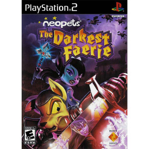 Neopets The Darkest Faerie Playstation 2 PS2 used video game for sale online.