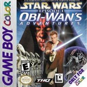 Obi-Wan's Adventure Star Wars Episode 1 GameBoy Color original Nintendo Game for sale online.