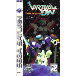 Virtual On Cyber Troopers Sega Saturn used video game for sale online.