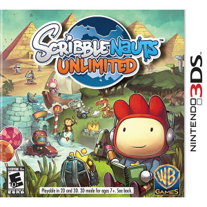 ScribbleNauts Unlimited Nintendo 3DS Nintendo Used Video Game for sale online.