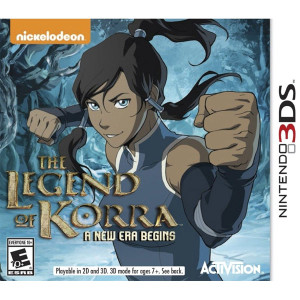 Legend of Korra New Era Begins Nintendo 3DS Nintendo Used Video Game for sale online.