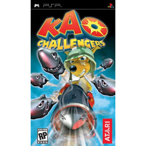Kao Challengers PSP Used Video Game For Sale Online.