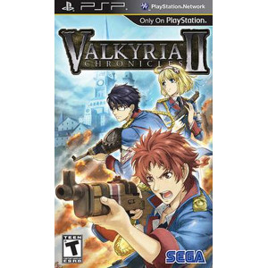 Valkyria Chronicles II PSP Used Video Game For Sale Online.