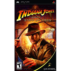 Indiana Jones Staff of Kings PSP Used Video Game For Sale Online.
