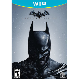 Batman Arkham Origins Wii U Nintendo original video game game used for sale online.