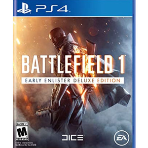 Battlefield 1 Early Enlister Deluxe Edition Playstation 4 PS4 used video game for sale online.