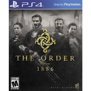 The Order 1886 Playstation 4 PS4 used video game for sale online.