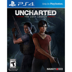 Uncharted Lost Legacy Playstation 4 PS4 used video game for sale online.