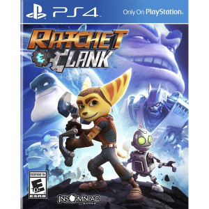 Ratchet & Clank Playstation 4 PS4 used video game for sale online.
