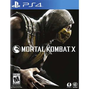 Mortal Kombat X Playstation 4 PS4 used video game for sale online.