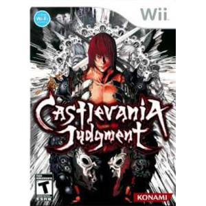 Castlevania Judgment Wii Nintendo used video game for sale online.