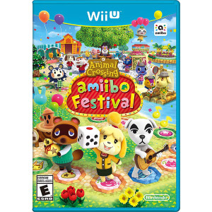 Animal Crossing Amiibo Festival Wii U Nintendo original video game game used for sale online.