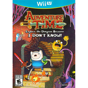 Adventure Time Explore the Dungeon Wii U Nintendo original video game game used for sale online.