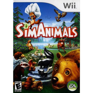 Sim Animals Wii Nintendo used video game for sale online.
