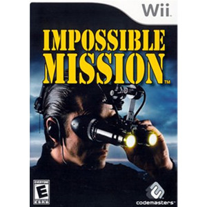 Impossible Mission Wii Nintendo used video game for sale online.