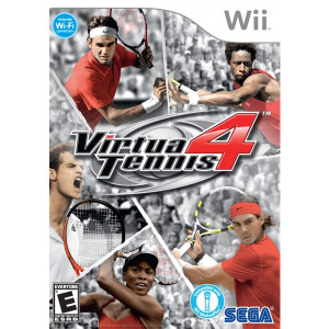 Virtua Tennis 4 Wii Nintendo used video game for sale online.