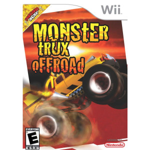 Monster Trux OffRoad Wii Nintendo used video game for sale online.
