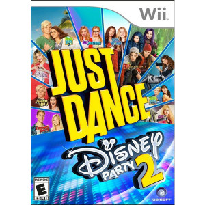 Just Dance Disney Party 2 Wii Nintendo used video game for sale online.