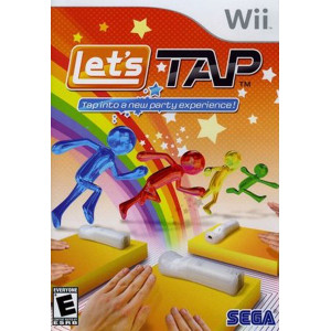 Let's Tap Wii Nintendo used video game for sale online.