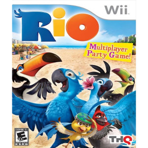 Rio Wii Nintendo used video game for sale online.