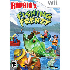 Rapala's Fishing Frenzy Wii Nintendo used video game for sale online.